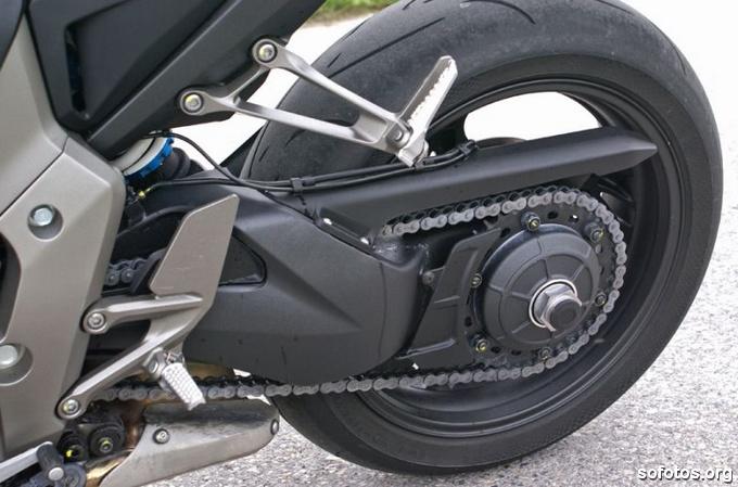 Transmissão da Honda CB 1000R