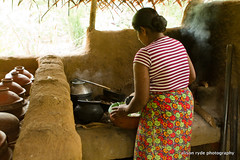 serving the rice (alison ryde - back in town for now) Tags: life travel colour kitchen canon rice cook explore pots journey local srilanka dishes dailylife villagelife culturaltriangle habarane