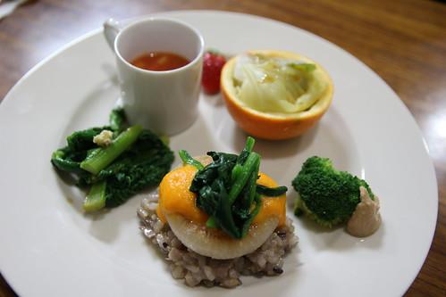 旬野菜のワンプレート料理