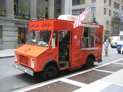 NYC Love Street Coffee, Wall Street area, USA (BuonCuore) Tags: street food coffee car truck snacks van cart sales vending olsen concession grumman foodtruck stepvan streetsales