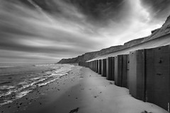 Defences (Nick J Stone) Tags: west mono norfolk runton 8183 nickstone