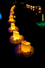 Floating candles (Samuel Mandang) Tags: availablelight sony za nex5n zeisscontest2012 sonnarte1824