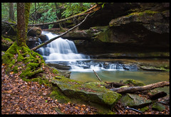 Gently Down the Stream (outsideshot) Tags: trees nature waterfall rocks stream alabama scenic slowshutter alabamathebeautiful mossyrocks bankheadnationalforest sipseywildernessarea