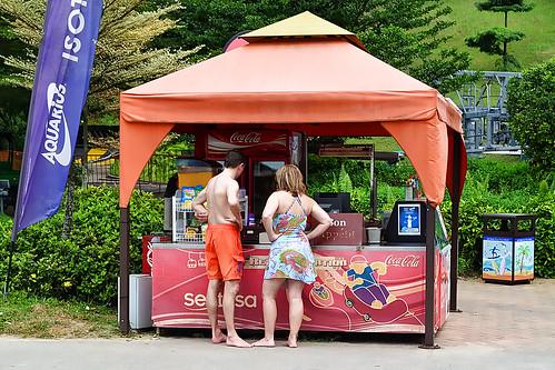 Drinks and Snacks Kiosk