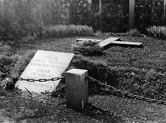 Mass Grave at Dachau (Gay Foster) Tags: bw germany holocaust graves worldwarii massgrave