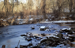 Pennypack Creek  Long Exposure [ND Filter] (Al Camardella Jr.) Tags: longexposure nature pennsylvania brynathyn pennypack ndfilter lowermoreland winter2013