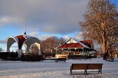 Montebello Park, St Catherines (John Prior 55) Tags: winter ontario parks sunsets stcatherines pavillions montebellopark walterostanek polkaking walterostanekpavillion