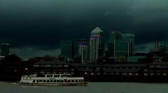 Canary Wharf Skyline from Greenwich #dailyshoot #London #Explore