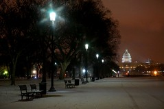 (LaTur) Tags: city winter urban snow dc capitol dcist capitolhill nightfall welovedc