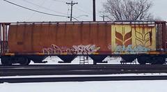 Each2 Stc Alamo (Archangel's Thunderbird) Tags: train graffiti ipc static stc alb uc alamo hopper freight ctw cdc minneapolisgraffiti benching each2 unitedcrushers abelincolnbrigade urbancelebs infamousprophetscrew