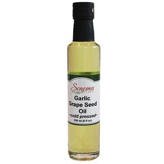 Garlic Grape Seed Oil Expeller Pressed 250ml/8.5oz (Sonoma Farm) Tags: foodproduct recipes