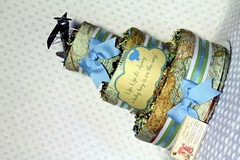Airplane Baby Diaper Cake Shower Gift Centerpiece Travel Destination (2) (Dianna's Diaper Cakes) Tags: baby diaper cakes shower centerpieces gifts boys girls neutral diannas decoration