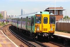 455810 Clapham Junction 18.07.16 (jonf45 - 2.5 million views-Thank you) Tags: electric dc br rail trains junction class southern multiple emu british railways clapham 3rd unit 455 4558 455810