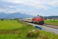 DB BR218 495-0 met IC2012 'Allgau' te Immenstadt, 17-08-16 (Danil de Ruig) Tags: db br218 br 218 allgu intercity immenstadt oberstdorf kempten