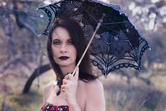 IMG_7632-Edit (sgbotha) Tags: eyes gothic umbrella red makeup beauty