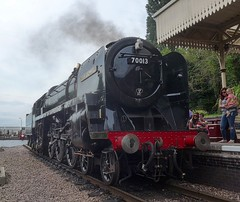Great Central Railway Leicester Leicestershire 27th August 2016 (loose_grip_99) Tags: greatcentral railway railroad rail gcr locomotive leicestershire steam train engine britishrailways standard pacific 462 britannia 70013 olivercromwell preservation transportation gassteam uksteam trains railways august 2016