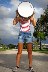 Drumming (KyleApl) Tags: portrait drum unconventional