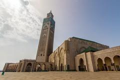 Grande Mosque Hassan II (Rjme) Tags: casablanca morocco mosque architecture hassanii hdr urban maroc