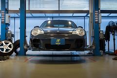 Servicing Porsche 996 Turbo (@pigstagram) Tags: porsche 911 996 turbo ruf service maintenance workshop garage seamless automotive