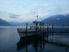 20160320_182436 (coldgazemedia) Tags: switzerland photobank stockphoto ticino locarno lake lakemaggiore water sea waterfront seaside ferry ship boat pier cloud outdoor