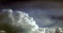 Keep your eyes to the skies (1ManWAC) Tags: ufos clouds hss slidersunday