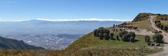 View of Quito from Rucu Pichincha Trail - Quito, Ecuador