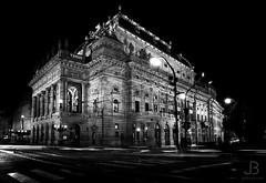 National Theatre, Prague (JanBures_com) Tags: national theatre prague czech vltava night czechia long