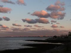 A lo lejos, la ciudad (Letua) Tags: buenosaires agua atardecer cielo ciudad clouds landscape nubes orilla paisaje rio river shoreline sky sunset water