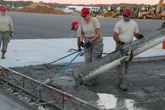 Airmen construct new airfield damage repair training site (Virginia Guard Public Affairs) Tags: virginianationalguard airfielddamagerepairtrainingsite camppendleton redhorse virginiabeach virginia unitedstatesofamerica