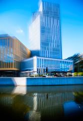Malm Live (Maria Eklind) Tags: mpln himmel europe sweden malm architecture sky reflection arkitektur malmlive norravallgatan spegling poutdoor buildings clouds skneln sverige se