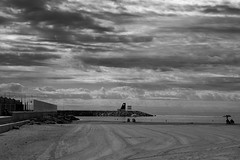 summer's end (pepe amestoy) Tags: blackandwhite landscape elcampello spain fujifilm xe1 carl zeiss t planar 250 zm