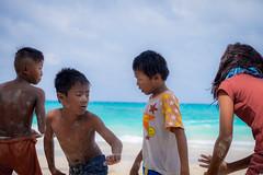 Pinoy playground (carlosromonbanogon) Tags: kid children child play playground beach sea game pinoy philippines xt1 fujifilm amateur teampilipinas