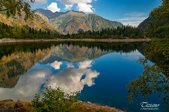 Clouds reflections (Tiziano Photography) Tags: antrona reflections clouds mountains lake trees landscape sky nikond610 d610 nikon panorama cielo nuvole riflessi montagne alberi lago