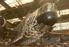 Wellington MkIA N2980 Brooklands 11-08-96 (Richard.Crockett 64) Tags: vickers wellington 1a n2980 wimpy bomber lochness lochnesswellington rforrobert raf royalairforce ww2 worldwartwo brooklands weybridge surrey 1996