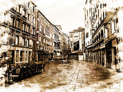 Venecia, Venice Streets 011 (www.ignaciolinares.com) Tags: venecia venice venezia gondola canales sanmarcos feniche campanile ilduomo eldoge vaporetto veneto italia