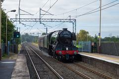 60103 'Flying Scotsman' at Penkridge (Hope Trains) Tags: westcoastrailwaycompany wcml westcoastmainline heritage steam wcrc flyingscotsman 60103 penkridge