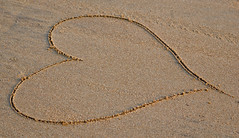 love on the beach ([s e l v i n]) Tags: india love beach sand heart bombay mumbai versova versovabeach ©selvin loveonsand heartonbeach loveonbeach