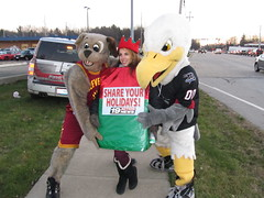 Salvation Army (27) (Moondog Mascot) Tags: food lake army drive discount wing drug monsters erie sully militant salvation 19 channel mart moondog cavaliers strongsville 12122012 cavsmoondog