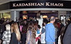 Fans gather outside Kardashian Khaos inside The Mirage Hotel & Casino to see sisters Kendall Jenner and Kylie Jenner Las Vegas