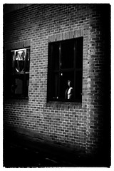 The Watcher In The Window (Feldore) Tags: ireland mannequin window look looking sony belfast spooky northern dummy mchugh mannequinn rx100 feldore