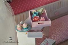 OOAK Diorama Shabby Cottage 1 (3)