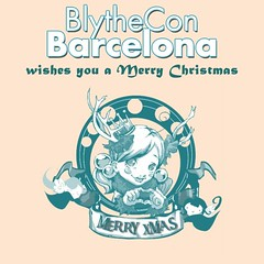 blythecon barcelona wishes you Merry Xmas ^^