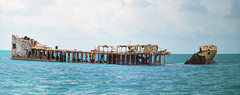 The Wreck of the Sapona. (clear_eyed_man) Tags: travel bahamas wreck bimini sapona