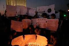 Protests at  India Gate-010