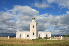 Los Morillos Lighthouse (Alli Vega) Tags: world ocean travel sea lighthouse puertorico caborojo boqueron losmorilloslighthouse farolosmorillosdecaborojo
