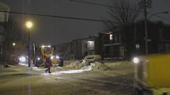 Snow Removal / Dneigement (Gerard Donnelly) Tags: snow sidewalk neige plow trottoir grader