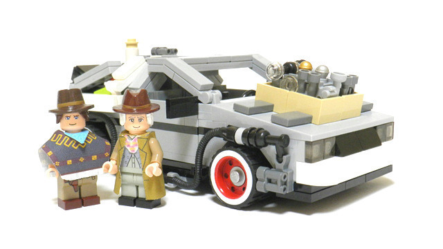 LEGO 正式宣佈2013年將發售「回到未來」時光車組合