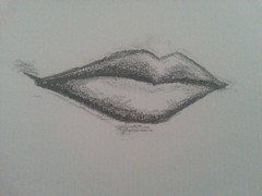Lips - Sketch (KJGarbutt) Tags: life portrait art face pencil mouth paper sketch body drawing sketching lips kurtis garbutt kjgarbutt kurtisgarbutt kurtisjgarbutt flickrandroidapp:filter=none