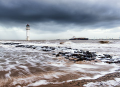 New Brighton (mahonyweb) Tags: lighthouse storm liverpool wirral newbrighton newbrightonlighthouse perchrocklighthouse nikon2470mmf28ged d800e nikond800e