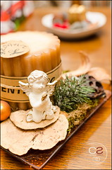 Christmas decoration (Cristian Sabau) Tags: christmas wood colors angel table leaf nikon flickr candle bokeh decoration christmasdecoration pure christmasarrangement beyondbokeh